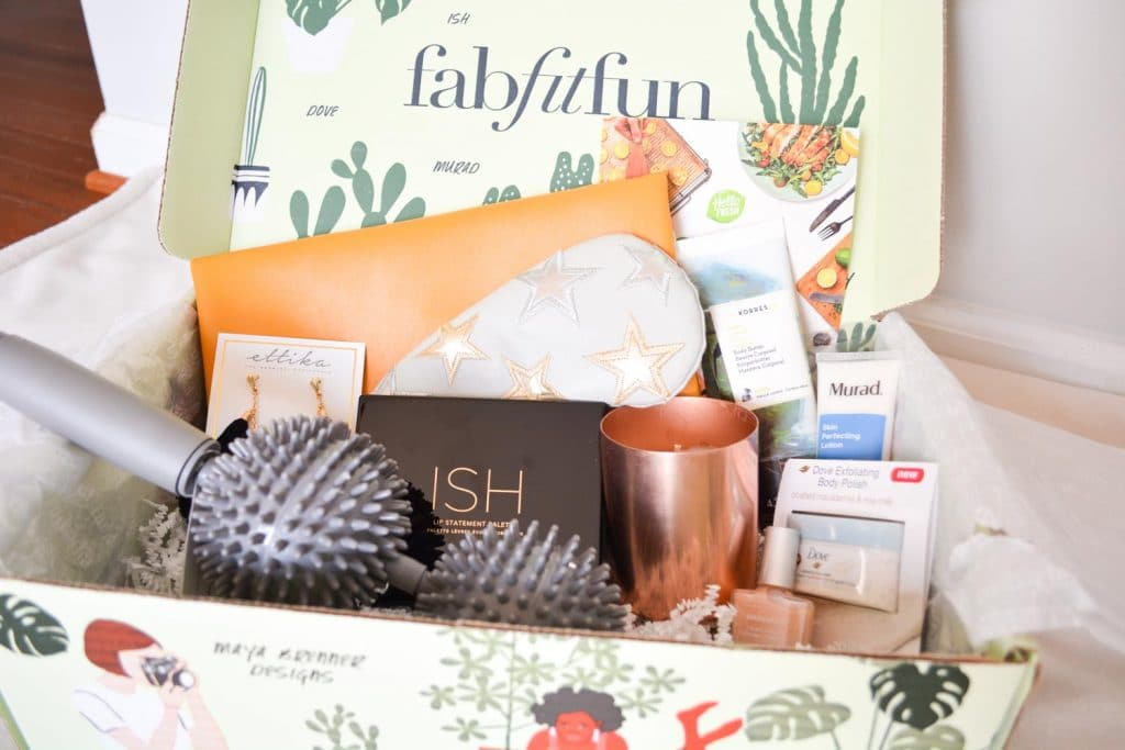 FabFitFun Spring 2018 Subscription Box