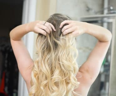 10 Minute Ponytail Curls
